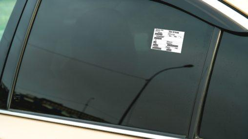 Car Distribution Label