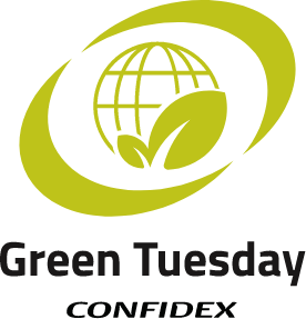 Confidex Green Tuesday sustainability Campaign
